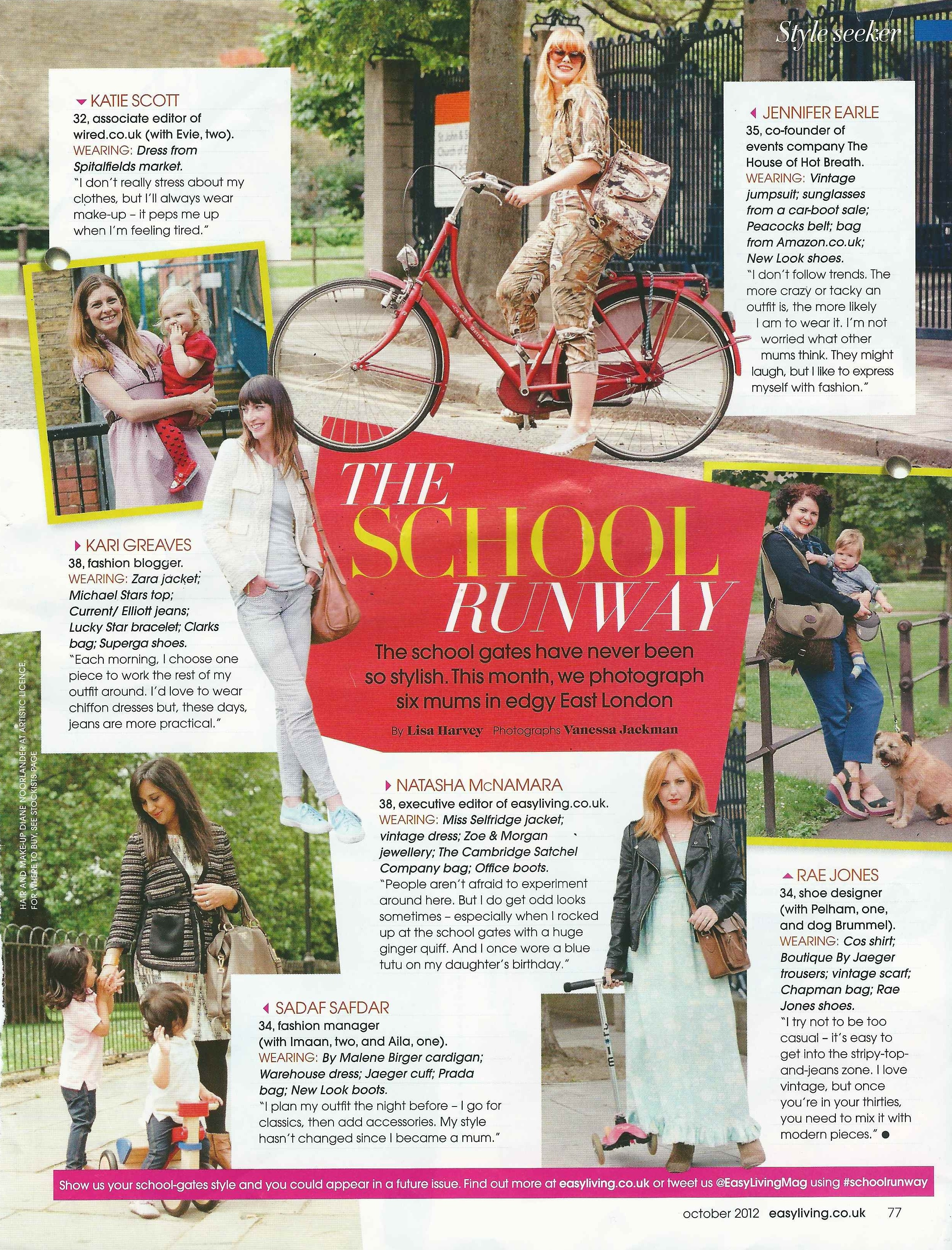 Easy Living- October Issue 2012